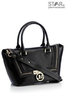 Star By Julien Macdonald Nicole Black Chain Grab Bag