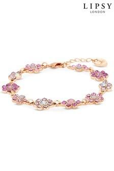 Lipsy Floral Cast Bracelet