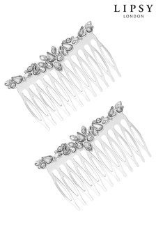 Lipsy Navette Stone Hair Comb