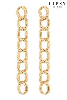 Lipsy Chain Link Drop Earring