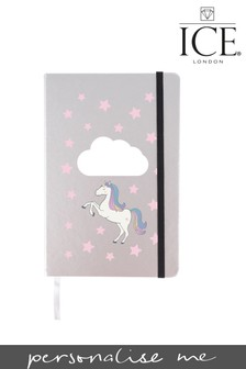 Personalised Unicorn A5 Notebook ICE London