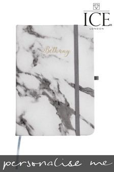 Personalised Marble Notebook by ICE London