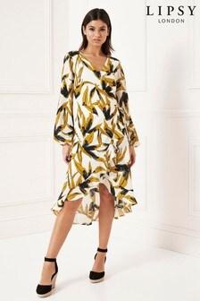 751b4df54214 Lipsy Wrap Dress | Printed & Maxi Wrap Dresses | Next USA