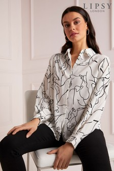 Lipsy Abstract Shirt