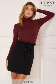 Lipsy Petite Paperbag Skirt