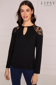 0d5cc8dbede129 Lipsy Tops | Lipsy Lace & Cold Shoulder Tops For Women | Next New ...