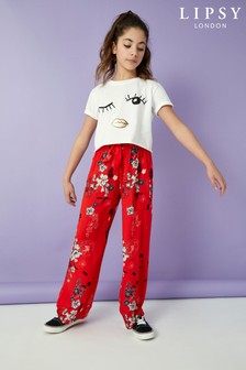 Lipsy Girl Floral Culotte