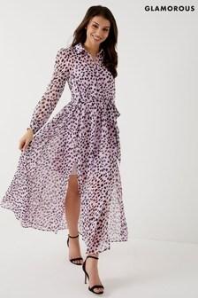 Glamorous Leopard Print Dress