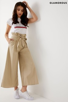 Glamorous Rouched Waist Trousers