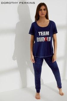 Dorothy Perkins Sequin Team Rudolph Pyjamas