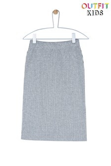 Outfit Kids Ribbed Midi Skirt