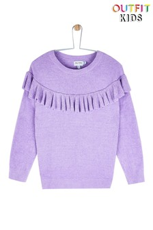 Outfit Kids Chenille Ruffle Jumper