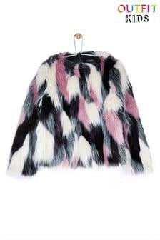 Outfit Kids Statement Fur Jacket
