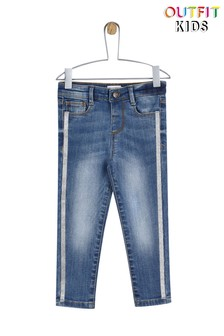 Outfit Kids Glitter Skinny Jeans