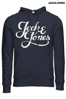 Jack & Jones Large Logo Hooded Sweatshirt