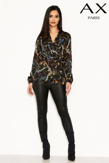 AX Paris Chain Print Top
