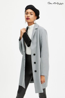 Miss Selfridge Check Duster Coat