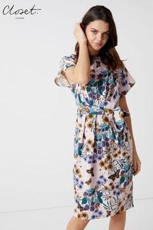 Closet Tailliertes Kleid