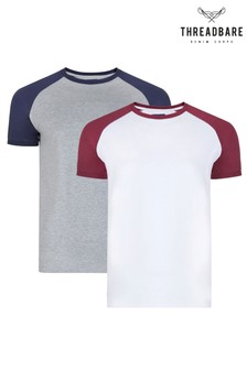 Threadbare Raglan T-Shirt - 2 Pack