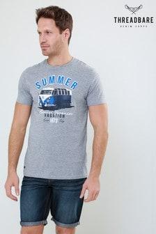 Threadbare Printed Crew T-Shirt