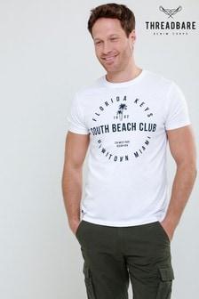 Threadbare T-Shirt Rundhalsausschnitt und Print