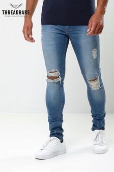 Threadbare Ripped Knee Skinny Jean