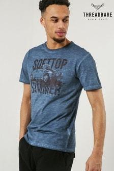 Threadbare Bedrucktes T-Shirt mit Rundhalsausschnitt