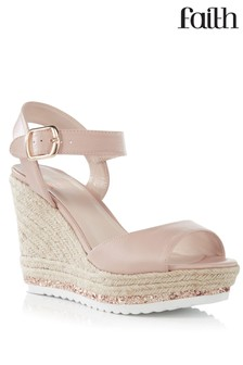 Faith Wedge Espadrille Sandals