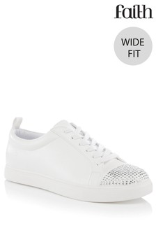 Faith Wide Fit Trainers