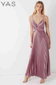 Y.A.S Pleated Maxi Dress