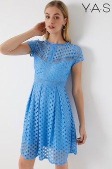 Y.A.S Lace Skater Dress