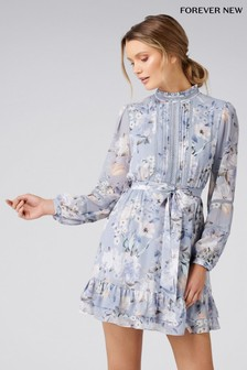 Forever New Petite Floral Print Dress