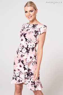 609db534e1 Paper Dolls Floral Midi Dress