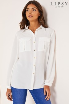 Lipsy Utility Pocket Blouse