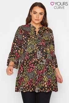 Yours Ditsy Print Smock Tunic