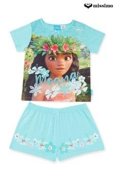 Missimo Kids Moana Aqua Short PJ Set