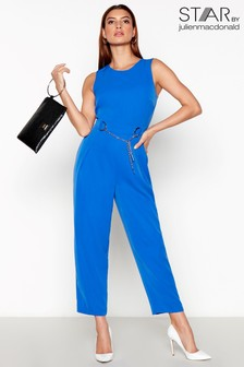 Star By Julien Macdonald Chain Jumpsuit