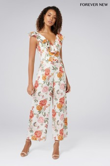 Forever New Floral Jumpsuit