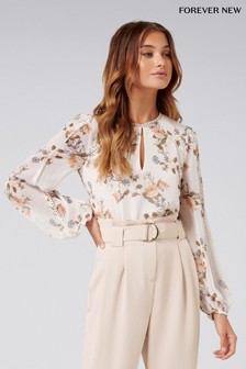 Forever New Petite Floral Print Blouse