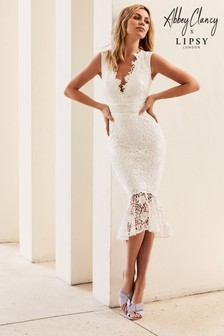 7705c2558a1 Abbey Clancy x Lipsy Cornflower Lace Bodycon