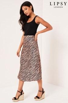 Lipsy Zebra Skirt