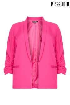 Missguided Curve Bright Tailored Blazer