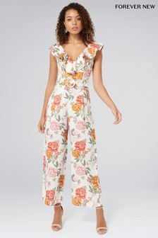 Forever New Petite Floral Jumpsuit