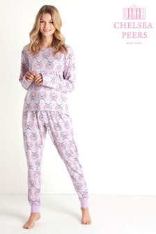 Chelsea Peers Long Love Birds Pyjama Set