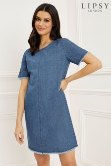 Lipsy Denim Shift Dress