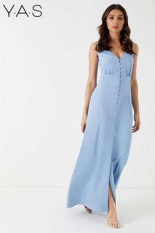 Y.A.S Button Down Maxi Dress