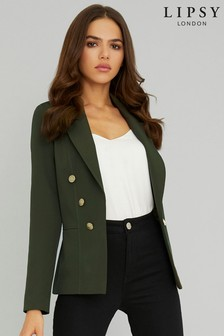 Lipsy Military Button Blazer
