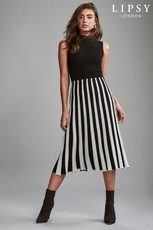 Lipsy 2 in 1 Pleated Dress