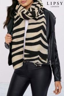 Lipsy Zebra Scarf