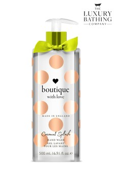 The English Bathing Company, Boutique With Love Hand Wash - Coconut Splash 500ml